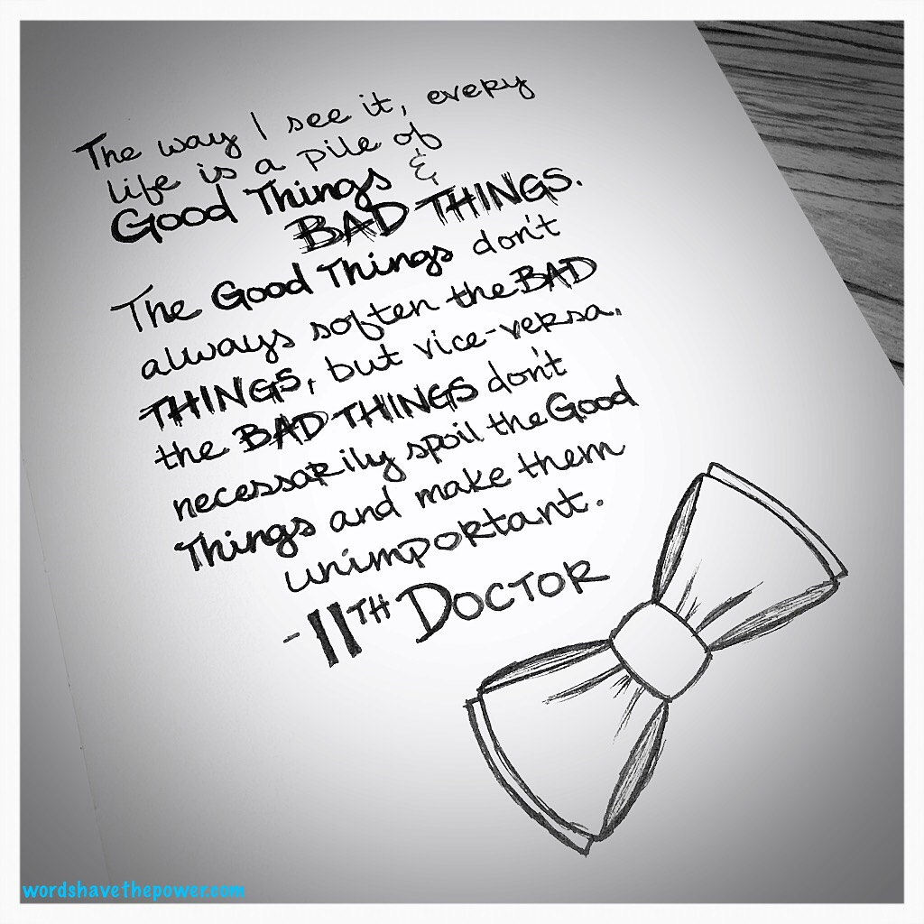 Doctor Who Quotes About Love Doctor Who  Words Have The Power